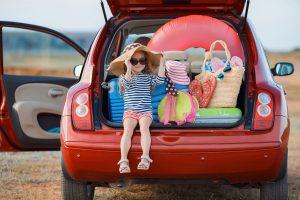 Vacanze con bambini la partenza